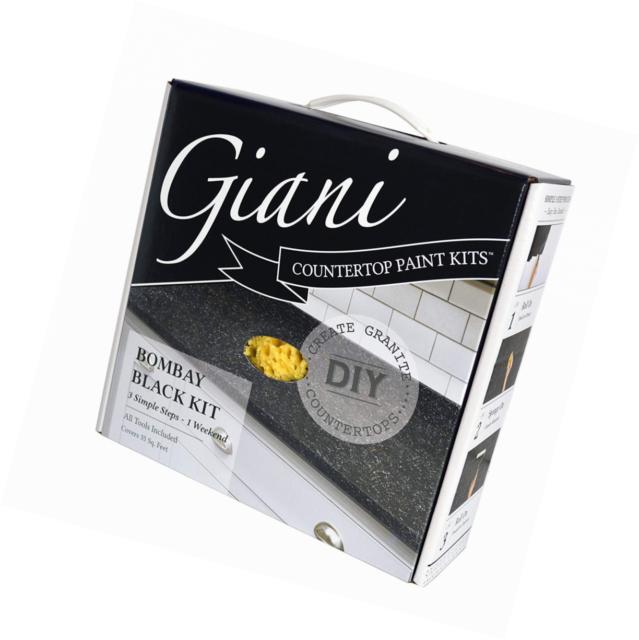 Giani Countertop Paint Kit Ay Black