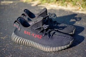 new product 80a36 be968 Details about Adidas Yeezy Boost 350 v2 Bred Size 9.5