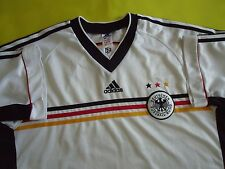 4.4/5 GERMANY DEUTSCHLAND 1998 2000 ORIGINAL FOOTBALL TRIKOT JERSEY SHIRT ADIDAS