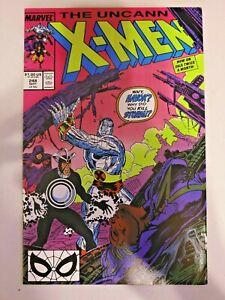 Uncanny X-Men #248 1st Jim Lee Art VF/NM Marvel Comics