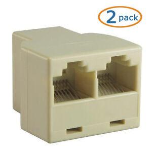 2x-Duplicator-RJ45-CABLE-Splitter-Splitter-Network-Ethernet-INTERNET-Extension