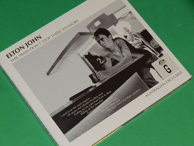 ELTON JOHN - THIS TRAIN DON'T STOP THERE ANYMORE  EP  CD