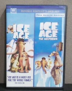 Ice Age Ice Age The Meltdown Dvd Double Feature Like New 24543618904 Ebay