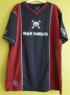 Iron Maiden Final Frontier World Tour 2011 Football Shirt L or XL NEW RRP  £54.99 1dc3a00a7