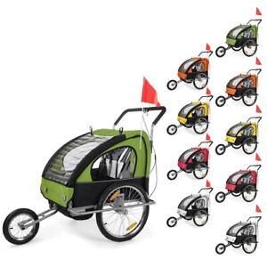 Jogger-Remorque-de-Velo-2in1-Remorque-pour-Enfants-Velo-Remorque-Transport-Samax