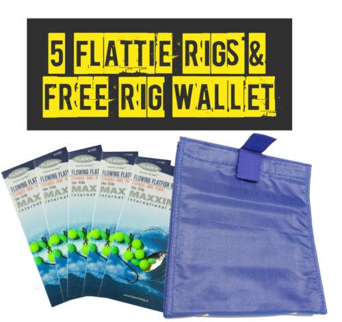 5 Flattie Rigs And Free Sea Fishing Rig Wallet