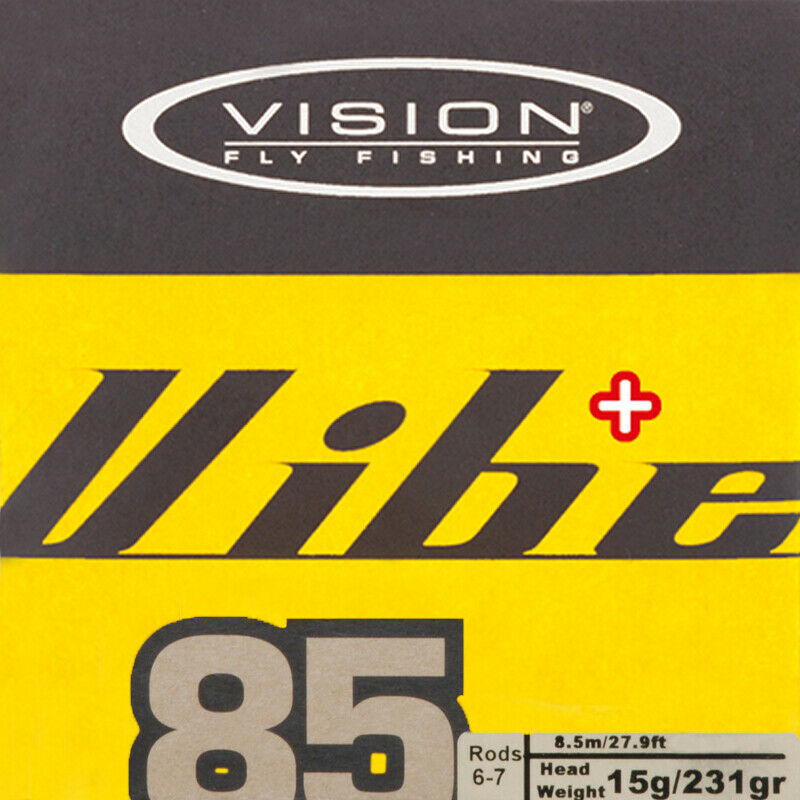 Vision Vibe Vibe Vibe 85+ Floating fly fishing line bee5fa