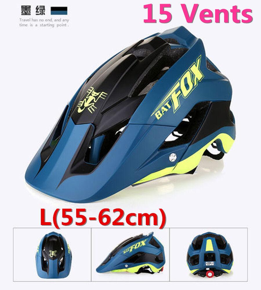 Mountain Bike Helmet Ultralight Adjustable  MTB Cycling Bicycle Helmet Unisex L  for sale