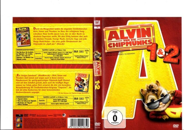 Alvin und die Chipmunks - Teil 1 + 2 (2010) 2-DVDs / #18596