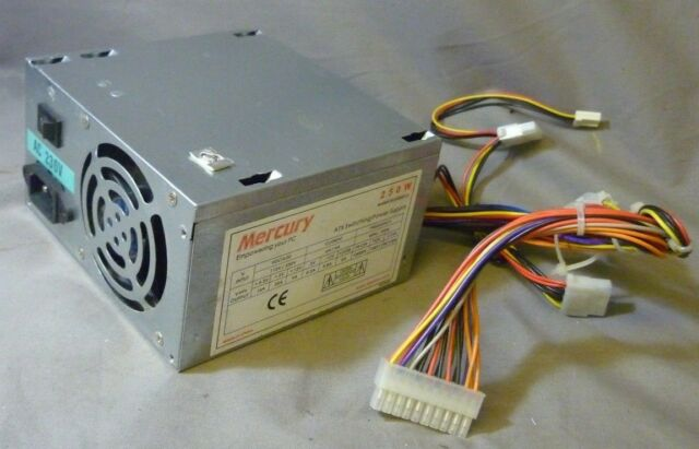 Mercury Kob Ap3250x CE 250w ATX Switching Power Supply Unit / PSU | eBay