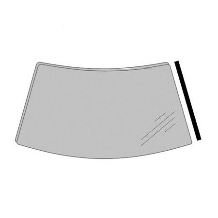 LANDROVER DISCOVERY 1994-1998 WINDSCREEN RUBBER RIGHT MOULDING