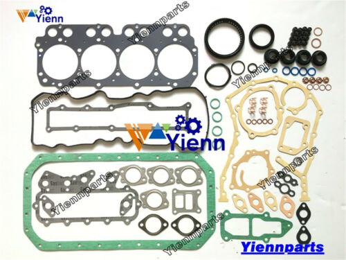 W04C W04CT full overhual head Gasket Kit For Hino  truck engine upper lower set