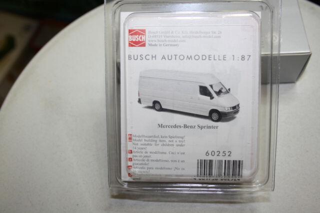 Busch 60252 Bausatz MB Sprinter 95 wei/ß