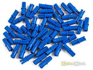 50x LEGO® Technic 43093 Verbinder Pins blau NEU Blue Axle Pin Friction Ridges