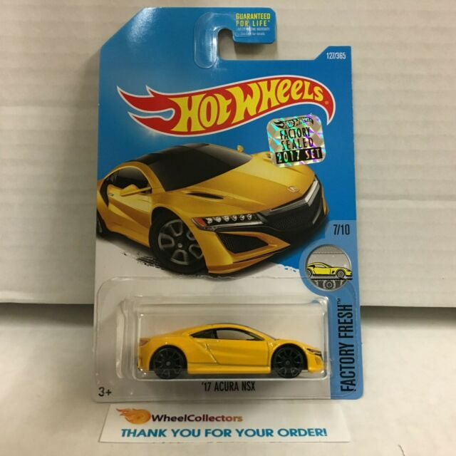 '17 Acura NSX #127 * Yellow * 2017 Hot Wheels * HE23