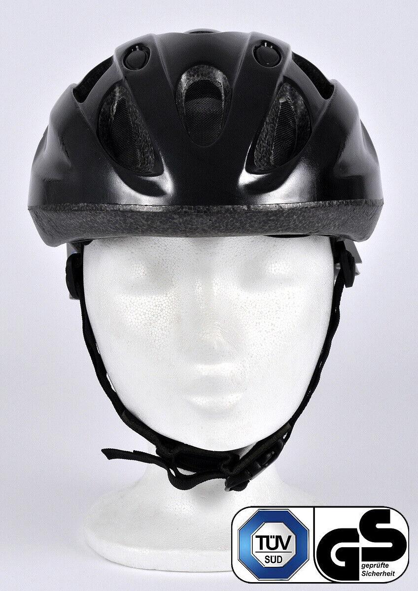 Radhelm S//M FISCHER Erwachsene Fahrradhelm Cityhelm Schwarz