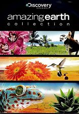 NEW  DVD // DISCOVER CHANNEL // AMAZING EARTH COLLECTION // 215 min // 4 EPISODE
