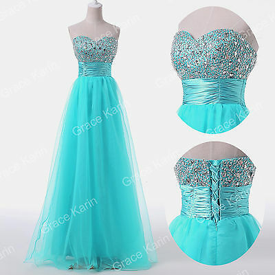 2014 Long Beaded Masquerade Evening Formal Party Ball Gown Prom Bridesmaid Dress