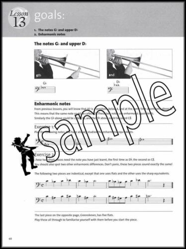 A New Tune A Day for Trombone 1 Music Book//DVD//CD Learn to Play Teach Yourself