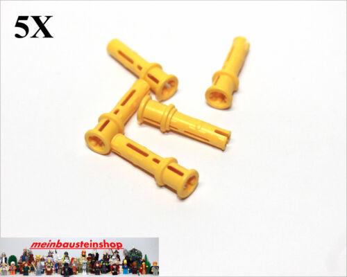 Stopper Achsloch Gelb Yellow Verbinder m 5X Lego® 32054 Technic Pin