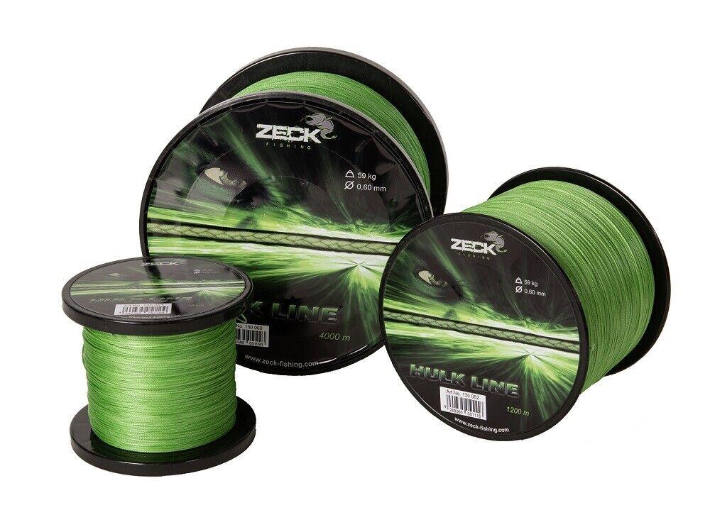 ( m) wallerschnur Hulk LINE 0,55 mm Wels filo intrecciato Waller corda