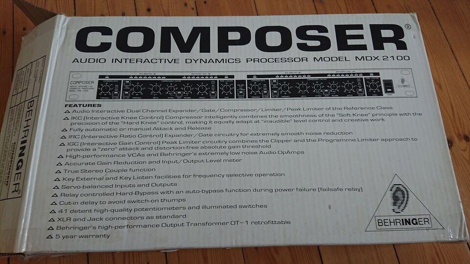 Composer, Behringer Mdx2100