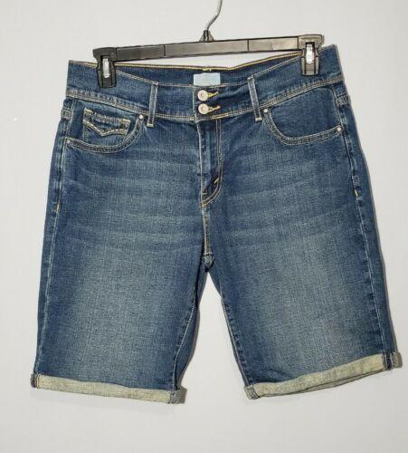 Levi Strauss 515 Shorts Women's Blue Wash Denim Be