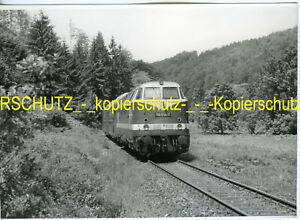 DR 118 614-7 1989 bei Schmiedefeld DDR FOTO (*12424)