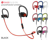 Apple Beats by Dr. Dre Powerbeats2 Wireless bluetooth Headphones + Accessories