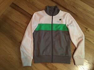 Vintage Adidas Originals Zip Up Jacket Hoodie Nylon Freizeit Klub 34 S