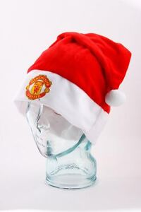 Manchester United FC Christmas Supersoft Santa Hat