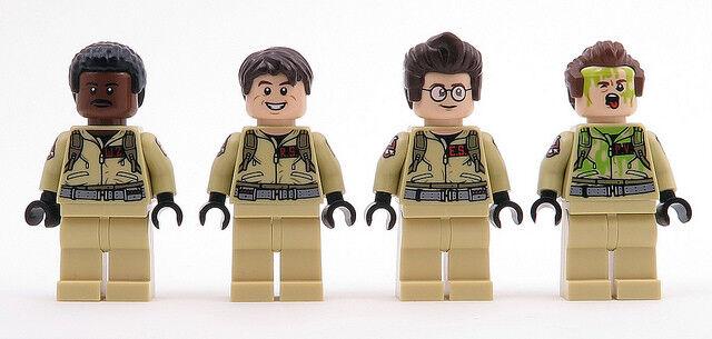 Lego - Set mit 4 Ghostbusters Minifigs von 75827 - Neu (Ungebaut   Gezogen Set)