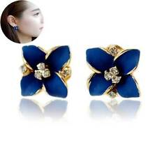 Fashion Women Elegant Crystal Rhinestone Ear Stud Earrings Jewelry Wholesale