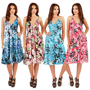2898f2205 Image is loading Pistachio-Womens-Floral-Or-Aztec-Print-Midi-New-