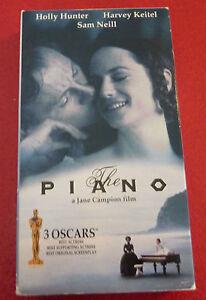 VHS-Movie-The-Piano-Holly-Hunter-Sam-Neill-Harvey-Keitel