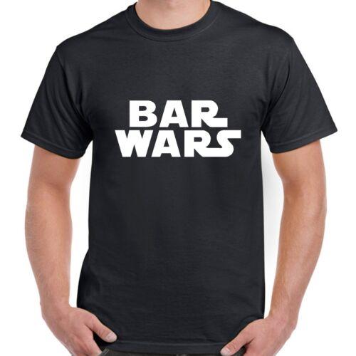 BAR WARS STAR WARS FUN PUB T SHIRT drinking laugh BNWT