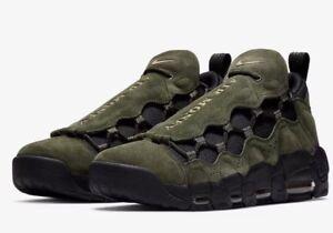 Nike Air More Money QS US Dollar Mens AJ7383-300 Sequoia Gold Shoes ... 3f82d0742