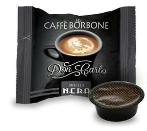 200-CAPSULE-CAFFE-039-BORBONE-MISCELA-NERA-DON-CARLO-A-MODO-MIO-OR