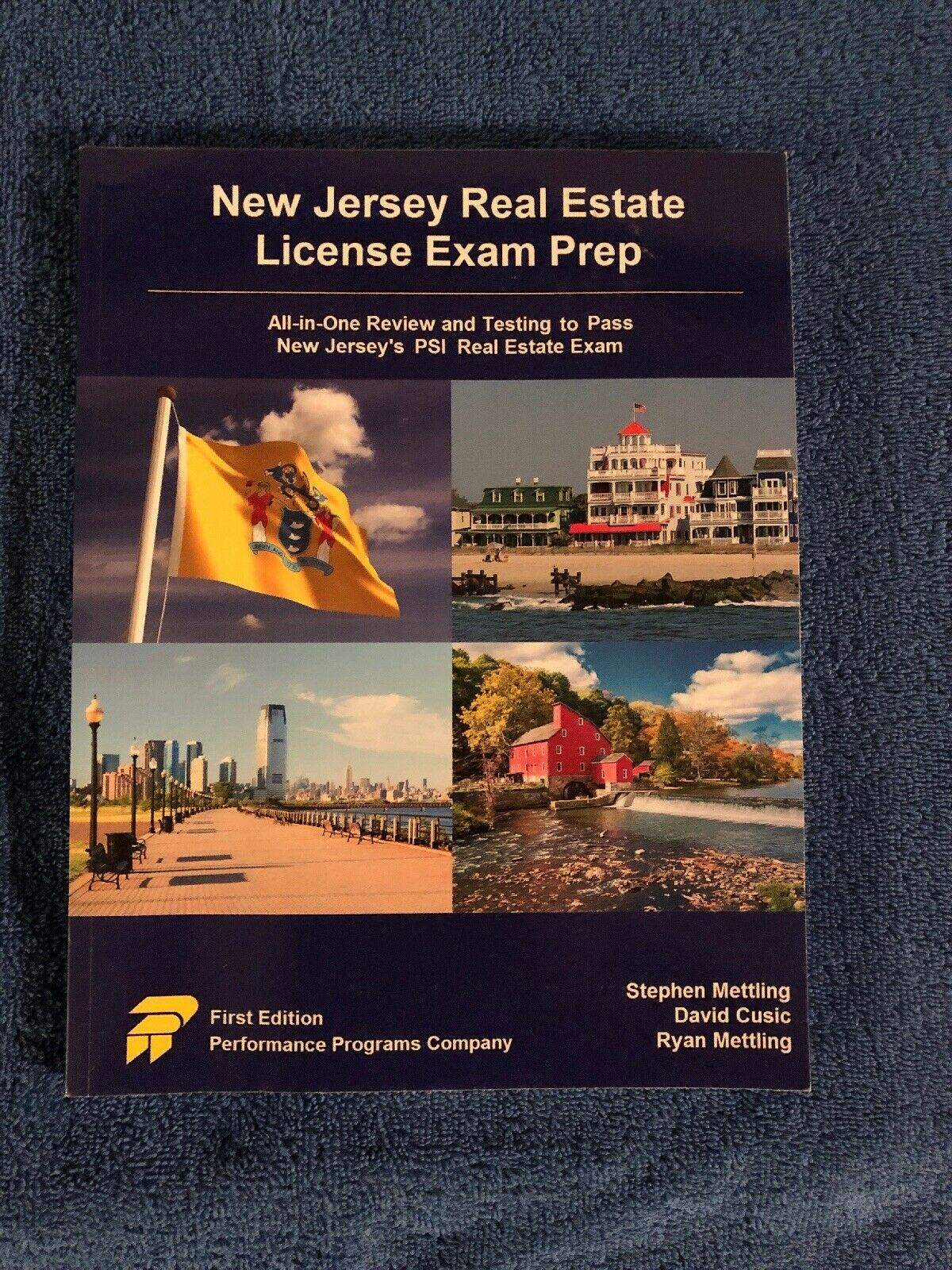 New Jersey Real Estate License Exam Prep All In One Review Testing To Pass New For Sale Online