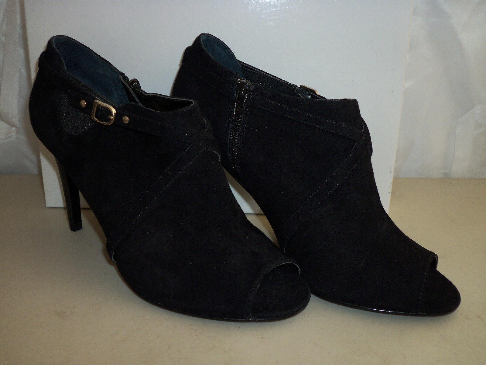 Alfani New Womens Dublin Black Open Toe Heels 9.5 M shoes