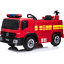 12V-Children-s-Battery-Operated-Electric-Ride-On-Fire-Engine-with-Accessories thumbnail 1