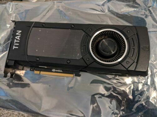 NVIDIA  GeForce TITAN X Maxwell Architecture 12 GB Graphics Card