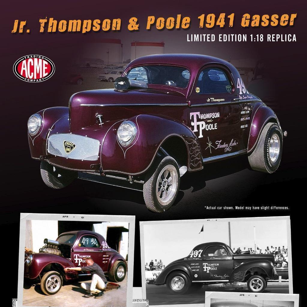 Precio por piso Acme 1941 Jr Thompson & Poole Gasser 1 18 le le le 600 un.   Nuevo    súper BONITA     ofreciendo 100%