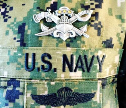 US NAVAL SPECIAL WARFARE COMBATANT CRAFT CREWMAN MASTER BADGE PIN UP NAVY VET