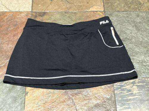 0920 FILA XL Black Tennis/Golf skort with Shorts &