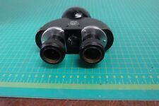 Carl Zeiss Binocular Microscope Head Optics 433mm Dovetail Mount Standard