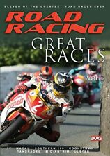 Road Racing - Great Races Vol 2 (New DVD) Dunlop Jefferies Hislop McCallen Amor