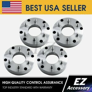 2 Wheel Adapters 6x5.5 To 8x170 Ford Super Duty Wheel on 6 Lug Chevy Hub Centric