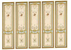 Dolls House Victorian Wall Panels Choose From 1 12th Or 1