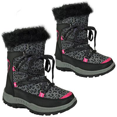 **NEW KIDS GIRLS LADIES WINTER SNOW MOON MUCKER WELLINGTON BOOTS SHOE